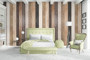 a bedroom using the top home decor ideas of 2019