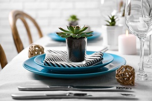 a nice table set for one of the top home decor ideas of 2019