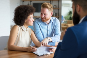 Couple with Title Insurance Company