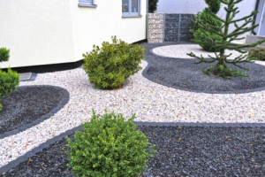 Gravel Landscaping Idea
