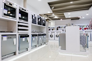 upgraded appliances is a showroom