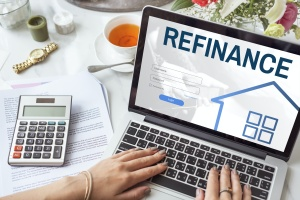 Refinancing a Mortgage on a computer