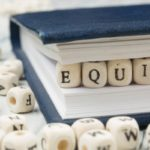Equity when refinancing a home concept