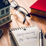 homeowner scrawled refinancing a home on the to-do list