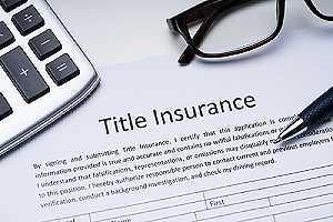 A title insurance form