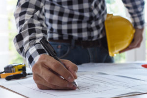 architect modifies blueprint of building after getting an owner's title insurance policy