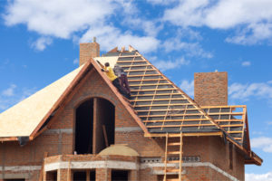 house being built is for people thinking of buying a home in northern virginia
