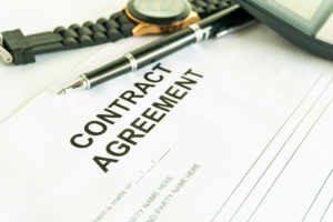 the contract agreement states who will pay for the title insurance