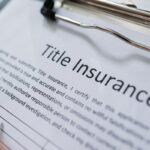 title insurance concept on papers