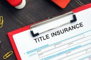 title insurance written on paper for title policies for owners