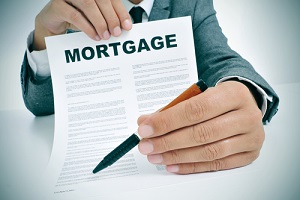 a mortgage lender want customer sign at the bottom of the document for title insurance for new construction